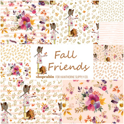 Fall Friends Fat Quarter Bundle Big Scale