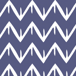 Peaks and Valleys in Indigo
