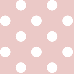 Jumbo Dot in Blush