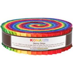"Kona Solid 1.5"" Strip Roll in Classic"