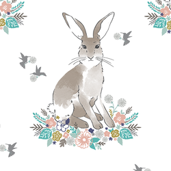 Cottontail in Spring