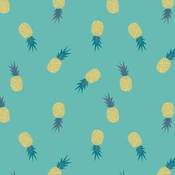 Ananas in Aqua