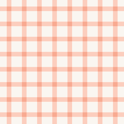 Cottage Gingham in Morning Blush