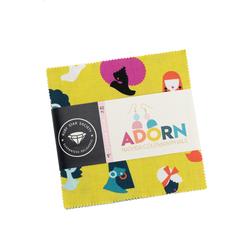 "Adorn 5"" Square Pack"