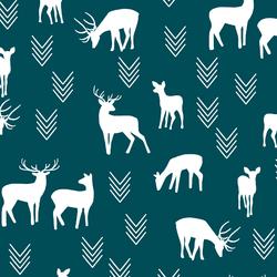 Deer Silhouette in Juniper