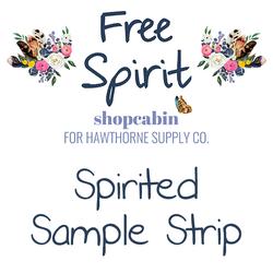Free Spirit - Spirited Grouping Sample Strip