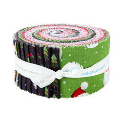 """Holly Holiday 2.5"""" Strip Roll"""
