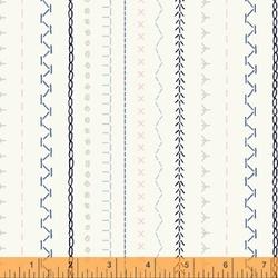 Sampler Stripe in White