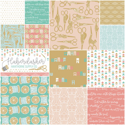 Haberdasher Fat Quarter Bundle in Modern