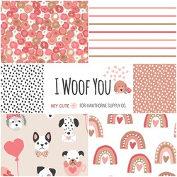 I Woof You Fat Quarter Bundle Big Scale