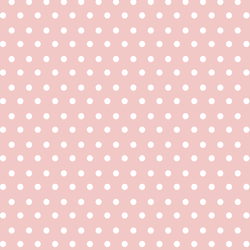 Spring Dot in Powder Pink