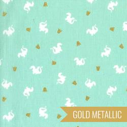 Baby Dragon in Turquoise Metallic