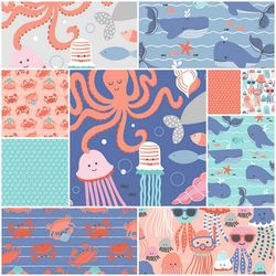 Underwater Fanta Sea Fat Quarter Bundle