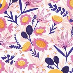 Garden Snails in Blossom