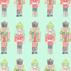 Nutcracker in Bright Mint