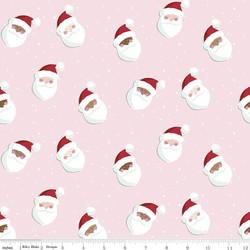 Santas in Petal Pink