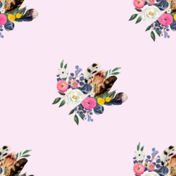 Western Bouquet in Primrose
