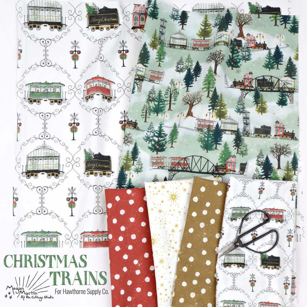 Christmas Trains Poster Image