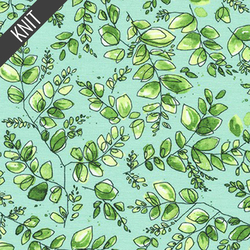 Branches Knit in Aqua