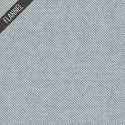 Twill Flannel in Grey