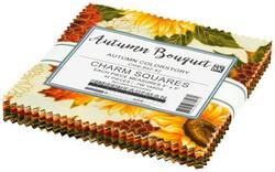 Autumn Bouquet Charm Squares in Autumn Colorstory