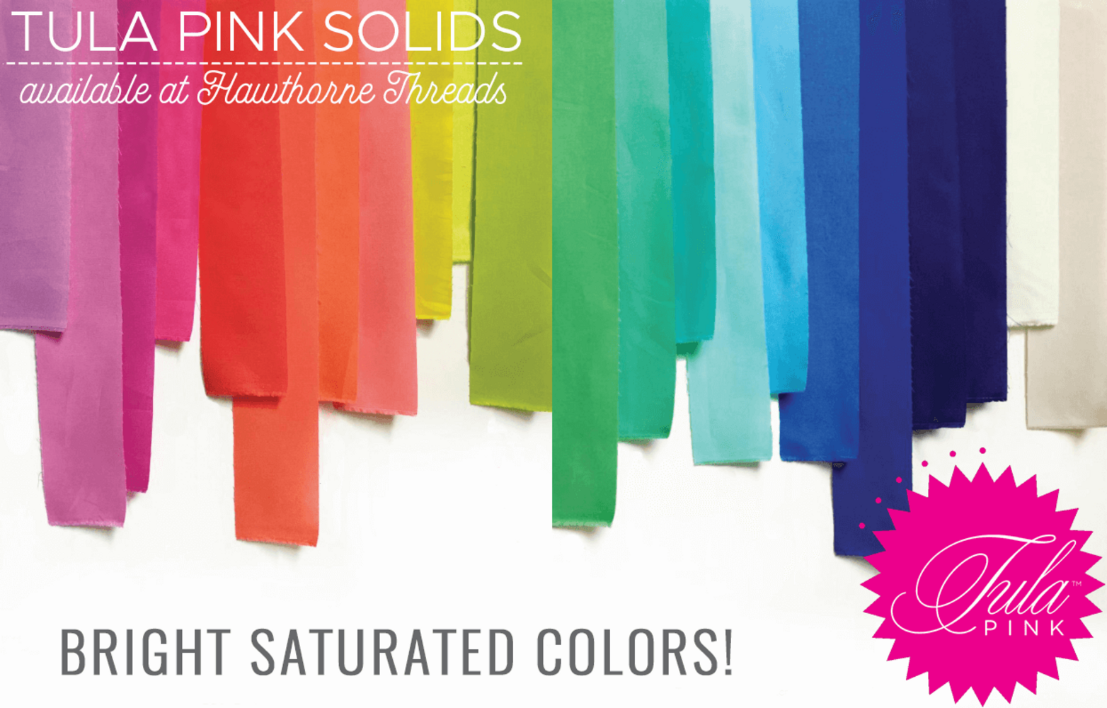 Tula Pink Solids Poster Image