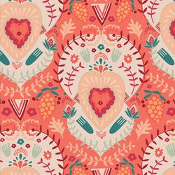 Hopeful Heart in Blush