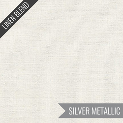 Essex Yarn Dyed Metallic in Vintage White