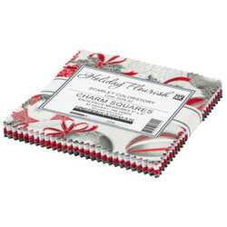 """Holiday Flourish 15 5"""" Square Pack in Scarlet Colorstory"""