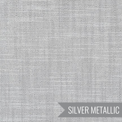 Manchester Yard Dyed Metallic in Silver
