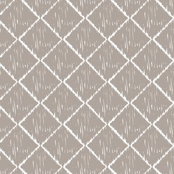 Ikat in Taupe