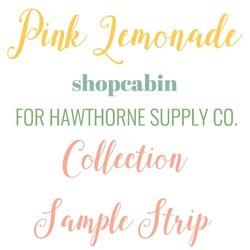 Pink Lemonade Sample Strip
