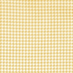Tiny Houndstooth in Mango
