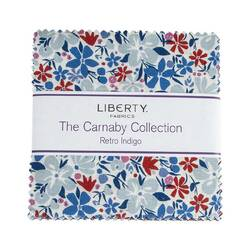 """The Carnaby Collection 5"""" Square Pack in Retro Indigo"""