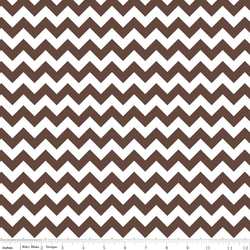 Small Chevron in Brown