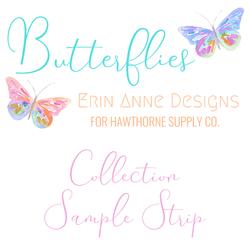 Butterflies Sample Strip