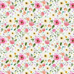 Small Sweet Treat Floral in Rainbow