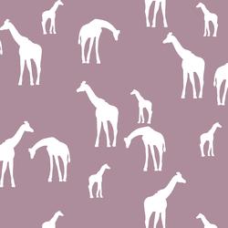 Giraffe Silhouette in Celestial
