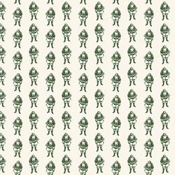 Santas in Green