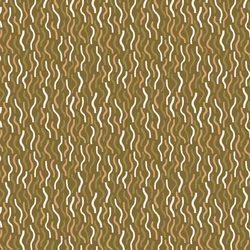 Northern Abstract in Dark Olive