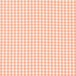 Small Carolina Gingham Yarn Dyed in Peach
