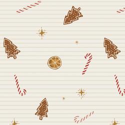 Holiday Treats in Festive Stripe
