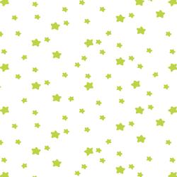 Star Light in Lime on White