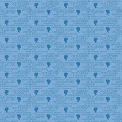 Outlander Logo in Blue