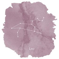 Leo Sign Panel in Celestial