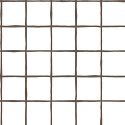 Windowpane in Timber on White