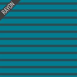 Rayon Stripes in Tide