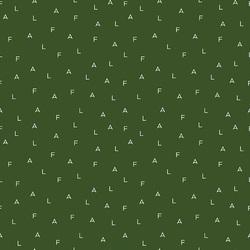 Fa La Letters in Green