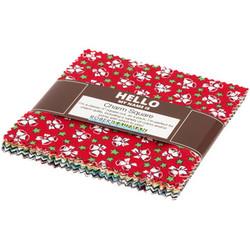 Yuletide Bells By Darlene Zimmerman - Holiday Colorstory Charm Pack