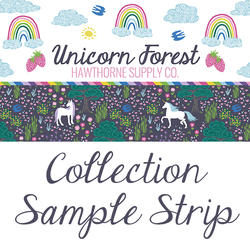 Unicorn Forest Sample Strip